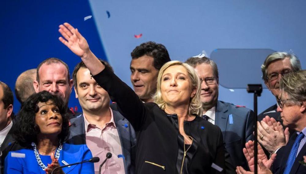 Le Pen en Lyon