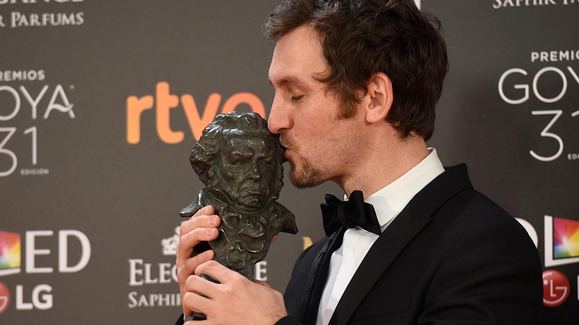 Raúl Arévalo, Goya al Mejor Director Novel por 'Tarde para la ira'