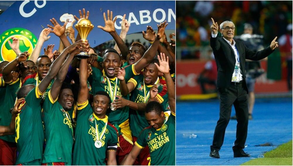 Camerún prolonga la maldición de Héctor Cúper en las finales
