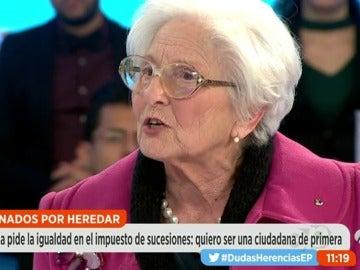 """Frame 286.191111 de: Clavelina García: """"No me parece justo que tenga que regalar un pedazo de mi casa al Gobierno después de trabajar toda la vida"""""""