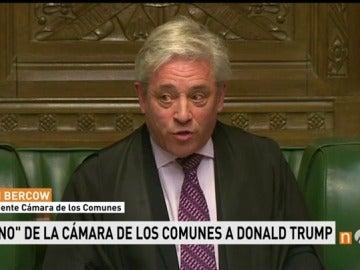 Frame 27.696 de: Cámara de los comunes veto a Trump