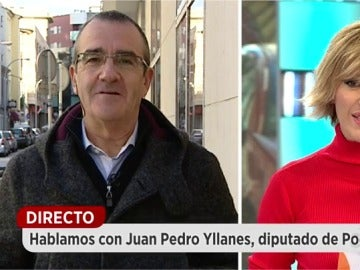 Juan Pedro Yllanes, diputado de Podemos