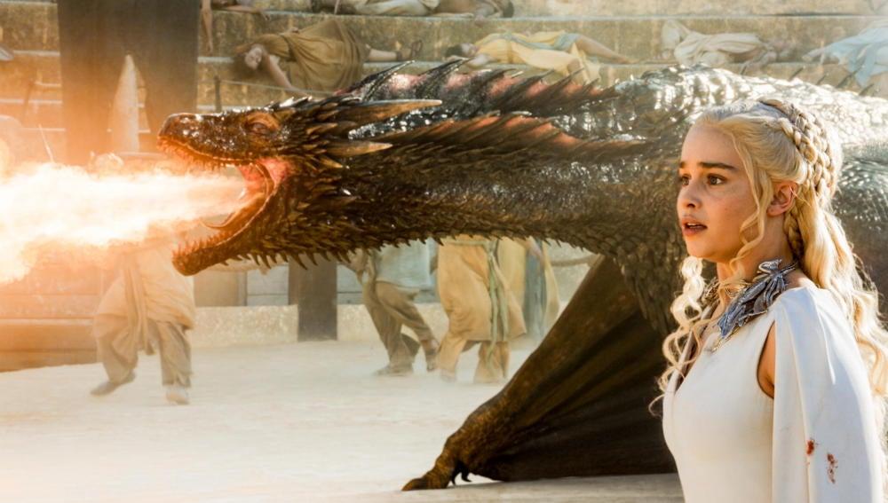 Los dragones vuelven a 'Juego de Tronos'