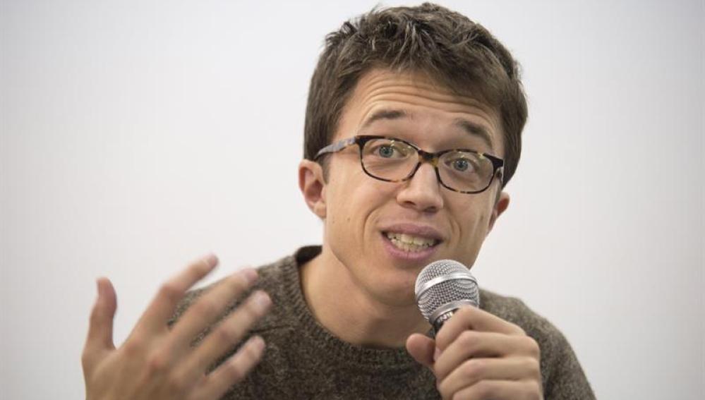 El secretario político de Podemos, Iñigo Errejón
