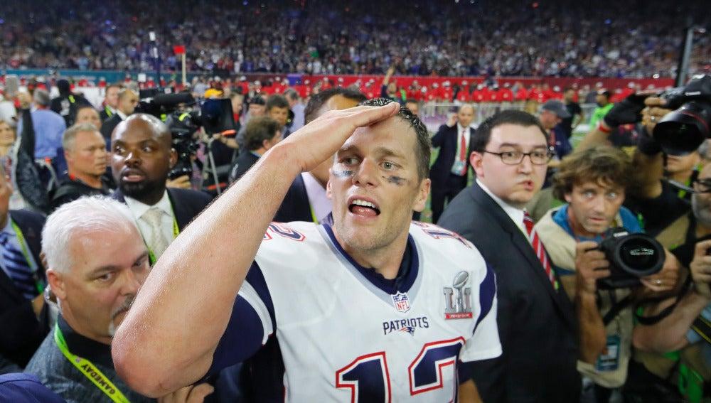 Tom Brady, tras ganar la Super Bowl