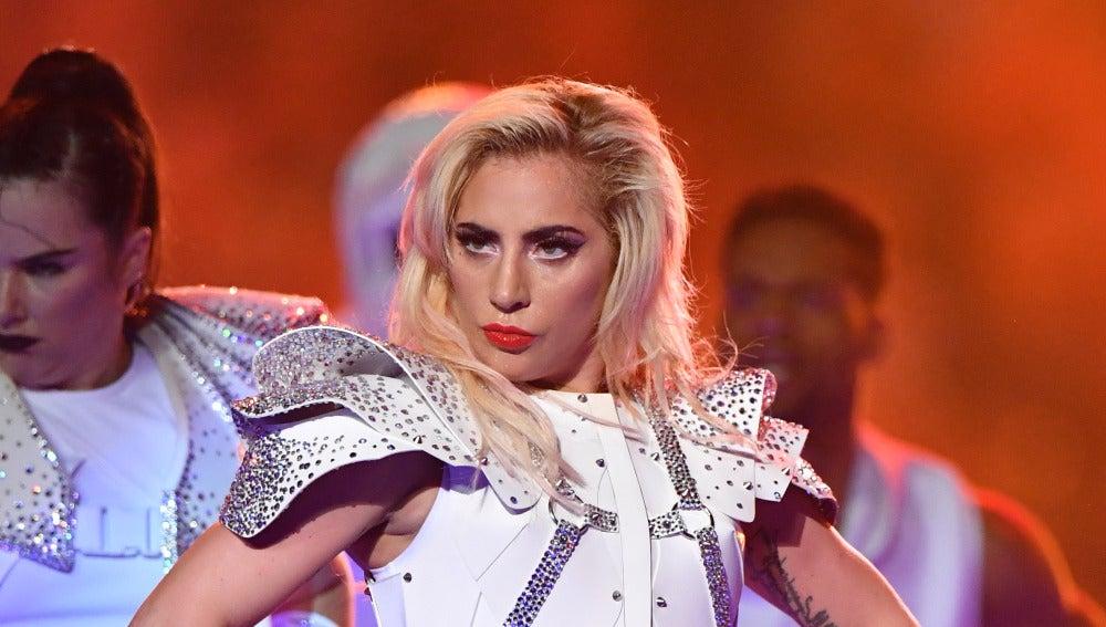 Otro de los grandes momentos del show de Lady Gaga