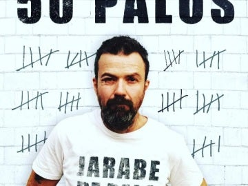 Portada disco '50 PALOS', Jarabe de palo