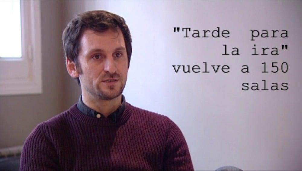 """Frame 57.951857 de: Raúl Arévalo conversa con Antena 3 Noticias sobre su Goya a la Mejor Película por su """"Tarde para la ira"""""""