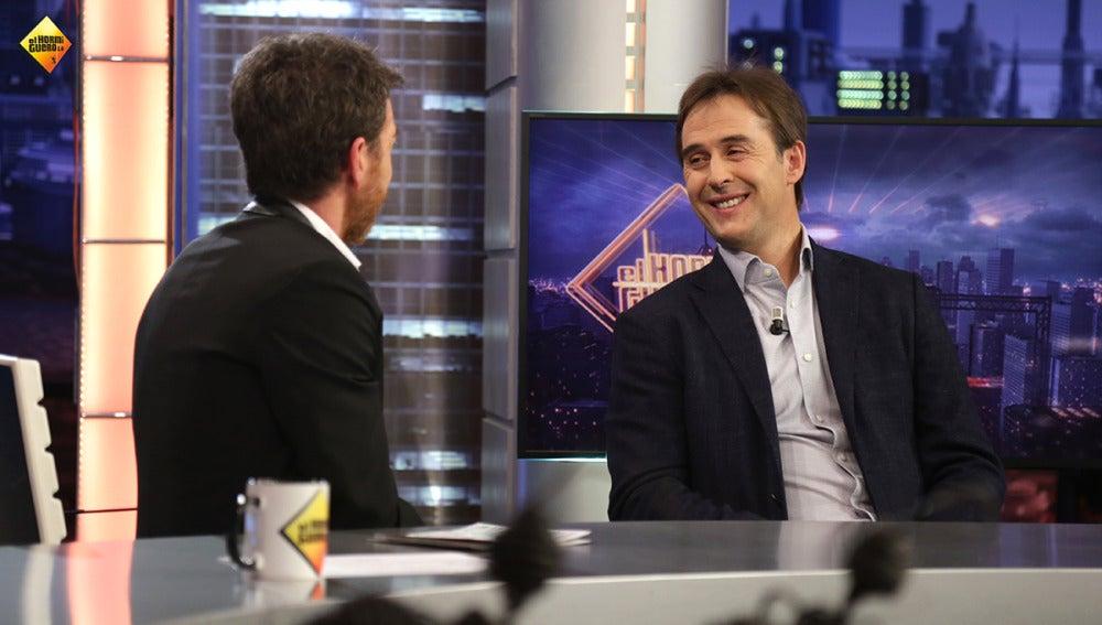 """Julen Lopetegui: """"La relación entre los jugadores del Real Madrid y el Barcelona es muy buena dentro de la selección"""""""