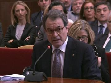 Artur Mas en su declaración