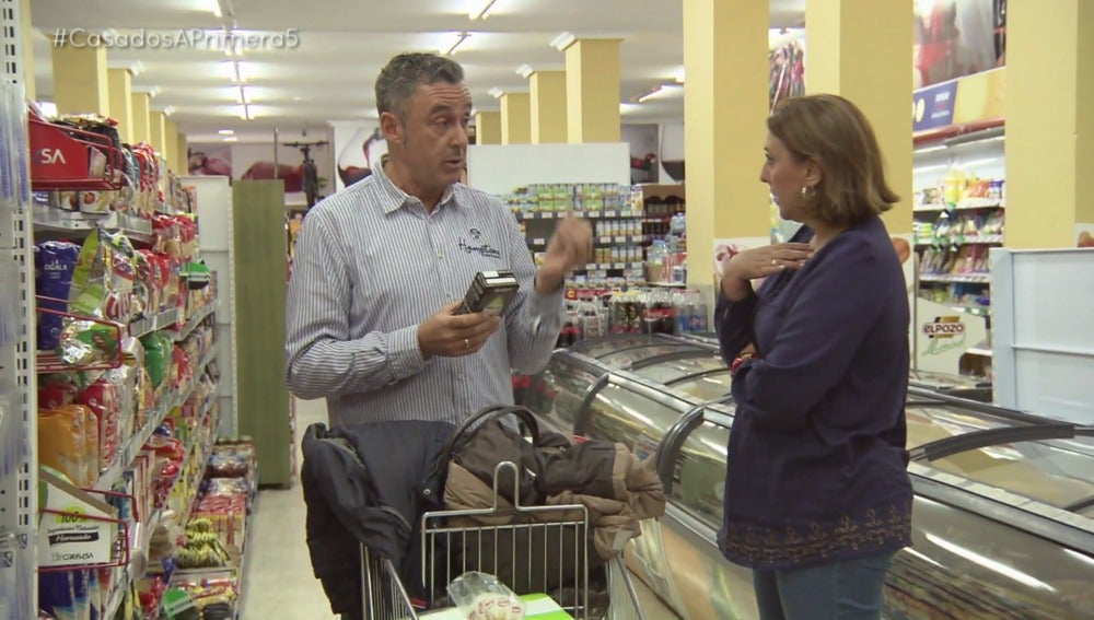 Estalla la guerra entre Ruth y Jaime en el supermercado
