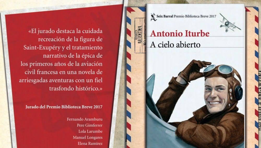 'A cielo abierto', de Antonio Iturbe