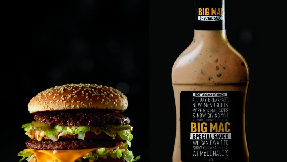 Salsa Big Mac.