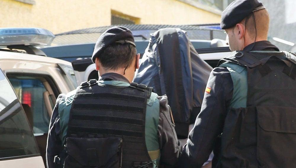 Imagen de archivo de una detención por parte de la Guardia Civil
