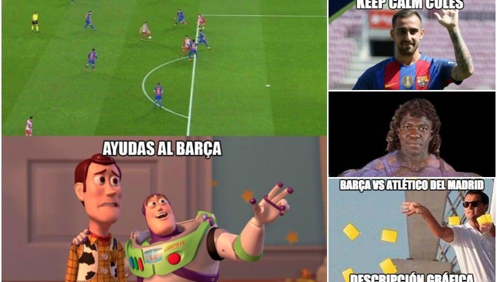 Los 'memes' del Barcelona-Atlético