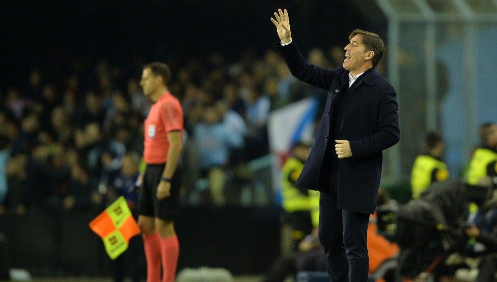 Eduardo Berizzo, entrenador del R.C Celta de Vigo