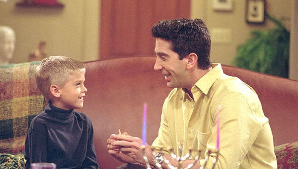Ben y Ross en 'Friends'