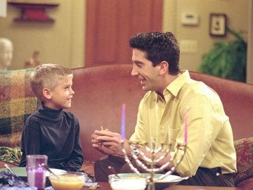 Ben y Ross en 'Friends'
