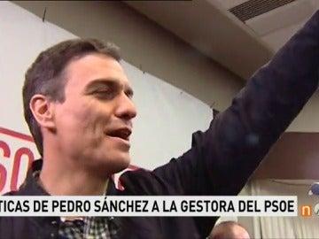 Frame 21.836111 de: Pedro Sánchez en Murcia contra Gestora