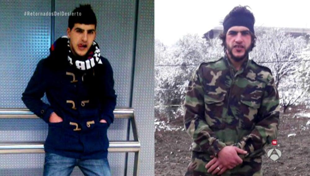 Uno de los combatientes de Daesh