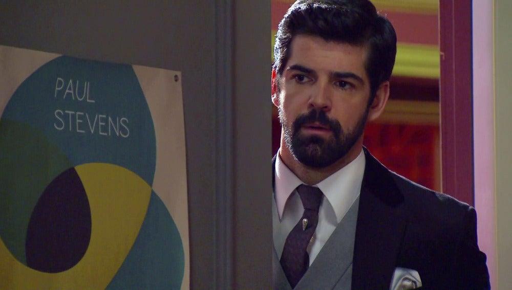 Alonso, muerto de celos al descubrir a Marta con Rafael