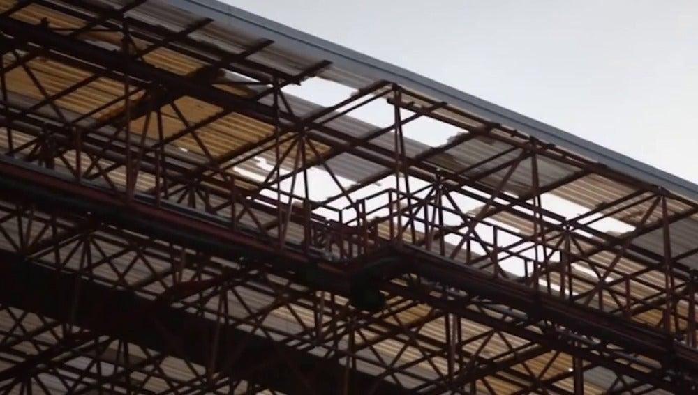 Frame 22.541019 de: Empiezan las obras en Balaídos y Riazor para reparar los desperfectos por el temporal en Galicia