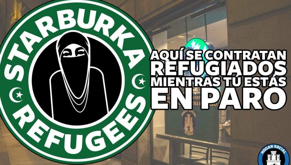 Carteles contra Starbucks