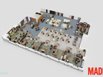 Escenario de 'Mad Men'