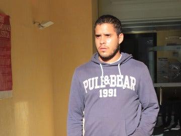 José Fernando saliendo de un juicio en La Frontera en Cádiz