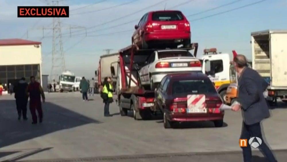 La Agencia Tributaria interviene en Madrid el mayor desguace de toda Europa