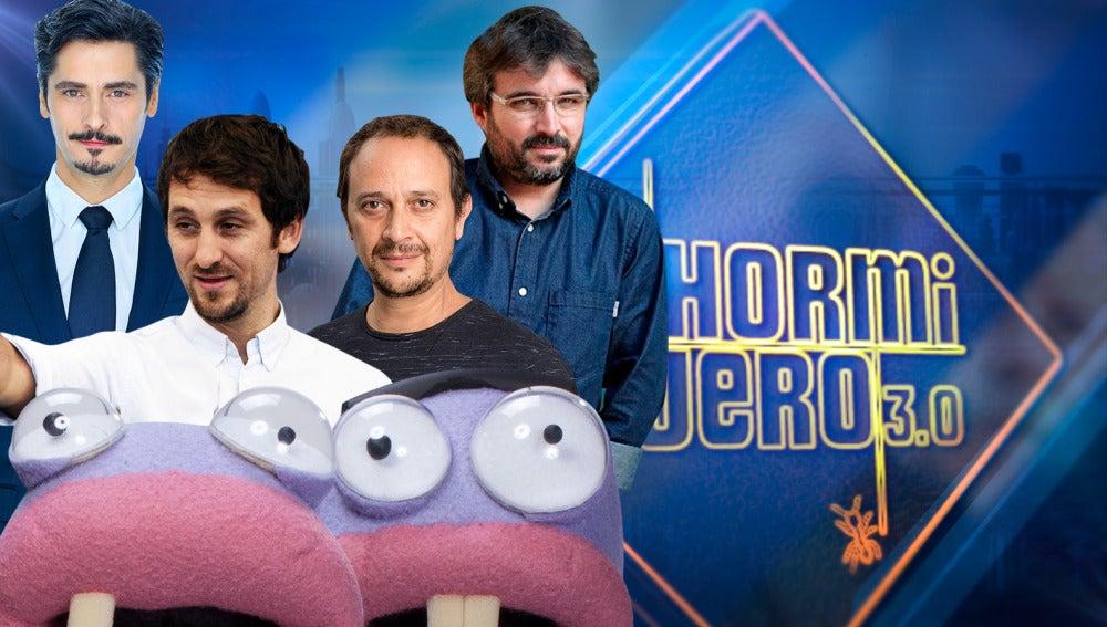 Tres de los mejores actores de nuestro país y el periodista Jordi Évole, invitados de lujo en 'El Hormiguero 3.0'