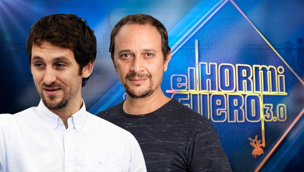 Los protagonistas de una de las películas triunfadoras de los Goya, Raúl Arévalo y Luis Callejo