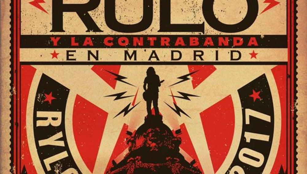 Cartel Rulo en Madrid