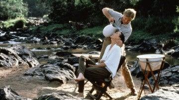 Imagen de la película 'Memorias de África'