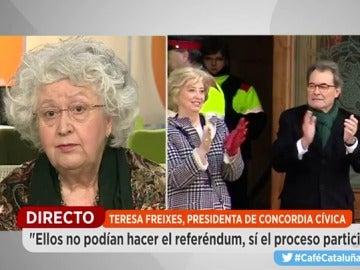 Teresa Frexies, presidenta de Concorda Cívica