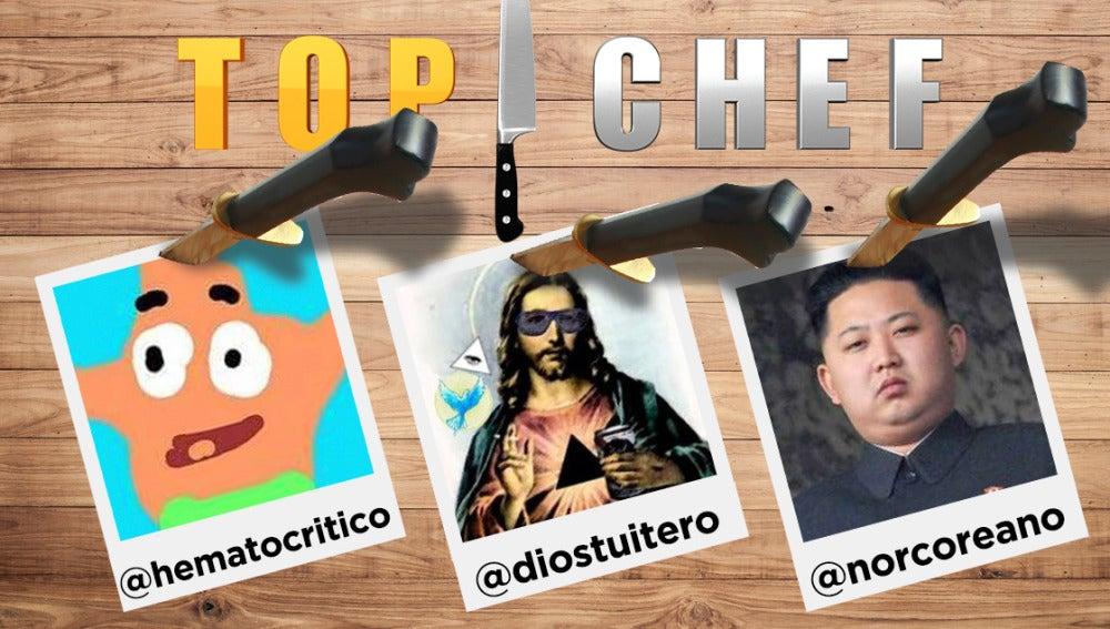 @norcoreano, @diostuitero y @hematocritico comentarán 'Top Chef' con sus divertidos posts