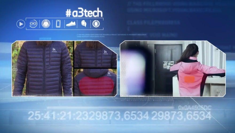 Frame 54.945228 de: Nuestra ropa podría estar conectada a la red o regular la temperatura corporal