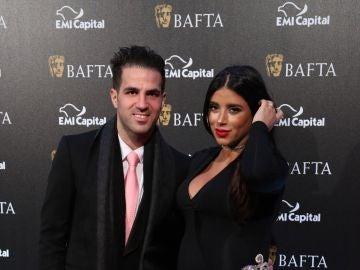 Cesc Fábregas y Daniella Semaan