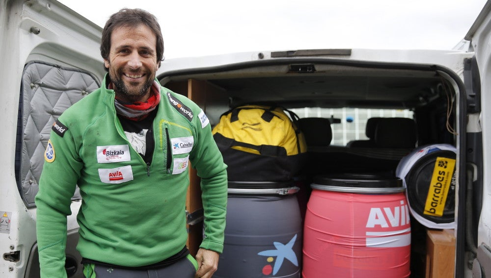 Alex Txikon, alpinista español (Archivo)