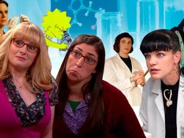 Mujeres científicas que nos enseñan ciencia en las series