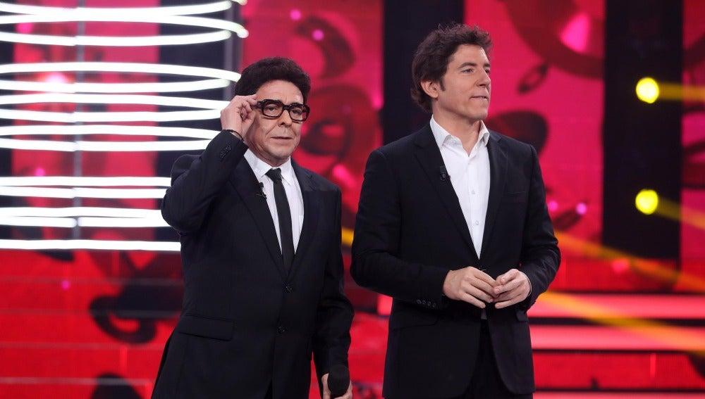 """Carlos Latre a Juan: """"Ha sido una muy buena imitación"""""""