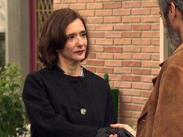 La agridulce despedida entre Esteban y Rosalía