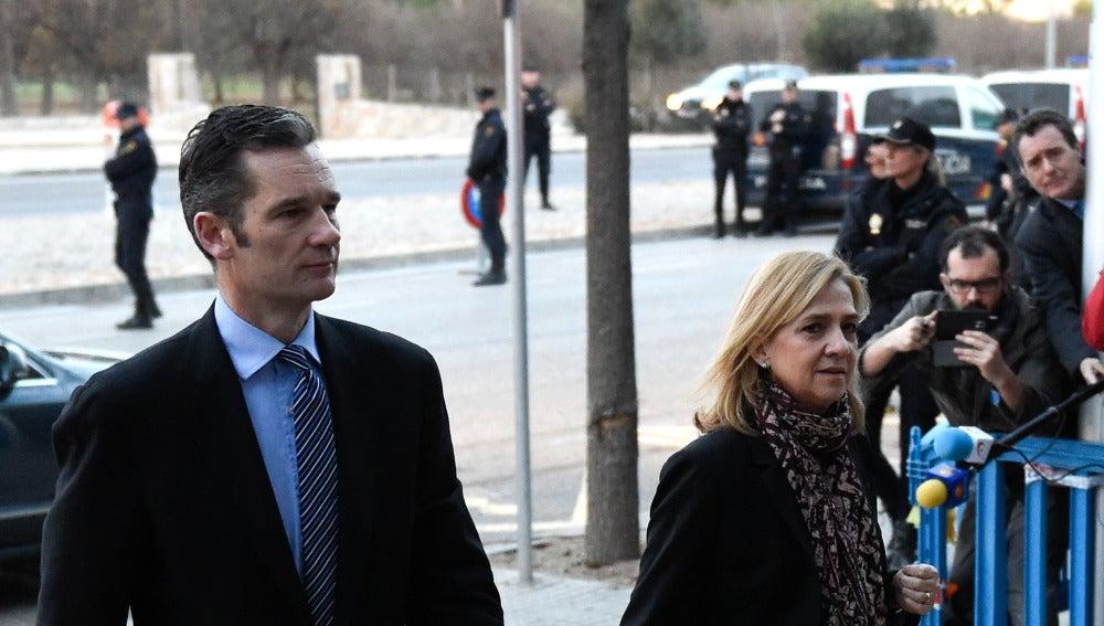 Iñaki Urdangarin y la Infanta Cristina