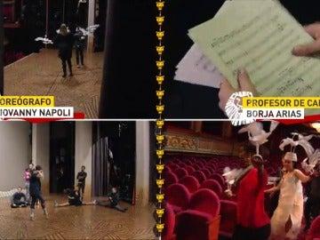 """Frame 49.421333 de: La experiencia de participar en el musical de """"El Rey León"""" durante un día"""