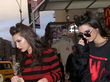 Kendall Jenner y Bella Hadid cogen fuerzas tras el desfile