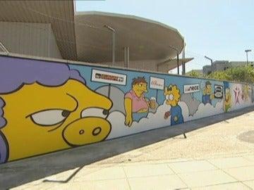 Frame 22.220444 de: Se buscan pintores urbanos para decorar un mural de 20 metros de largo en Atremedia