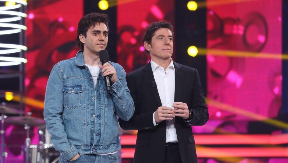 """Carlos Latre a David: """"La voz era muy parecido a la de Mikel en aquella época"""""""