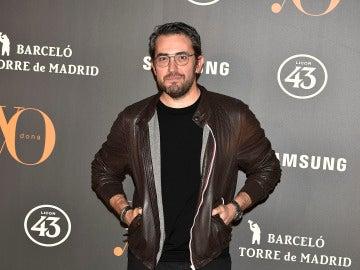 El presentador y escritor Máxim Huerta