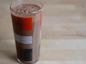 Batidazo de chocolate y café