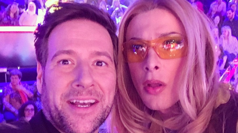 Blas Cantó y Carlos Latre en la primera semifinal de 'Tu cara me suena'